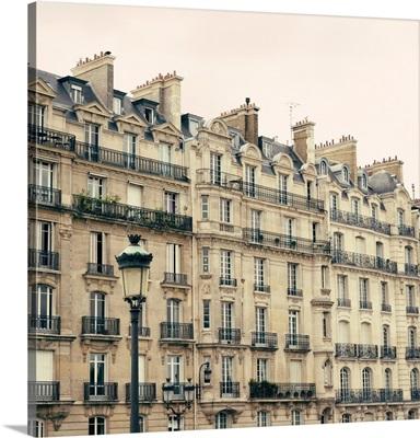 Vintage Paris Buildings