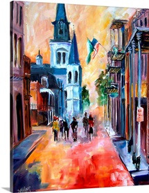 Misty Morning on Chartres Street
