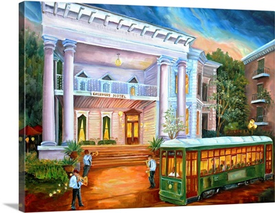New Orleans' Columns