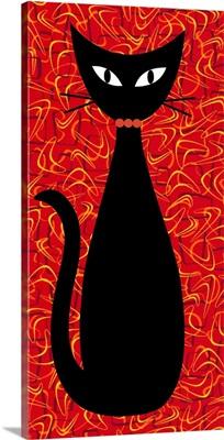 Boomerang Cat in Red