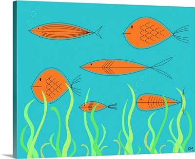 Mid Century Fish 2