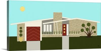 Mid Century Modern House 3