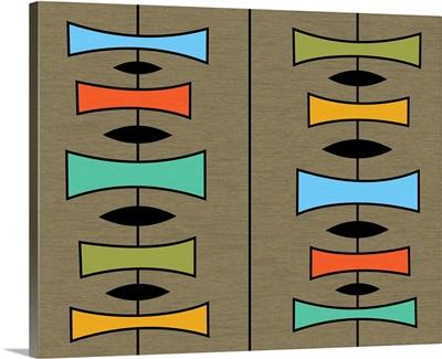 Trapezoids 3 on Brown