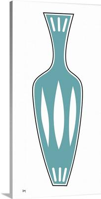 Vase 1 in Aqua