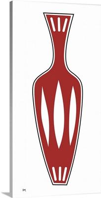 Vase 1 in Red
