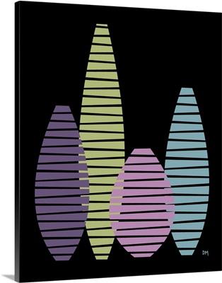 Vases on Black II