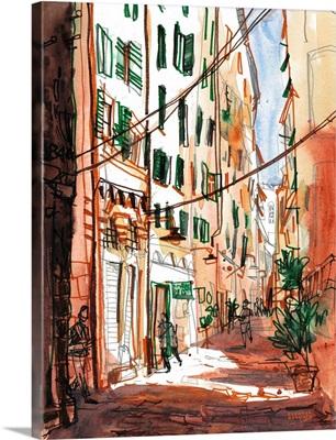 Italian Alleyways - Genova