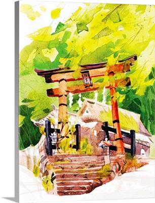 Torii Gate - Kyoto, Japan