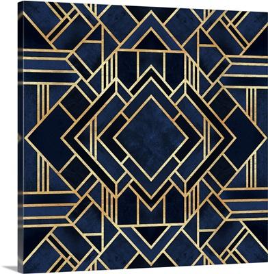 Art Deco Blue