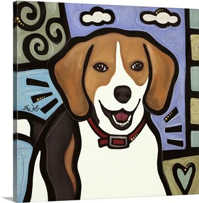 Beagle Pop Art