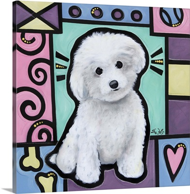 Bichon Frise Pop Art