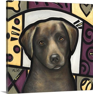 Chesapeake Bay Retriever Pop Art