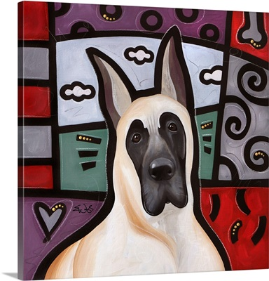 Great Dane Pop Art