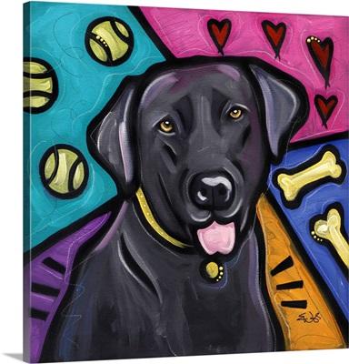 Labrador Retriever Pop Art