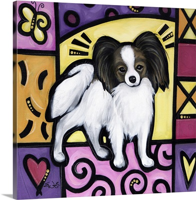 Papillon Pop Art