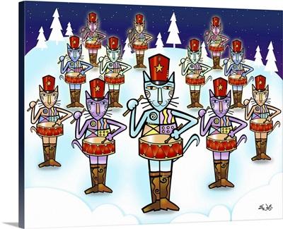 The Twelve Days of Christmas - Twelve Drummers Drumming