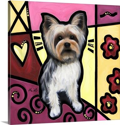 Yorkshire Terrier Pop Art