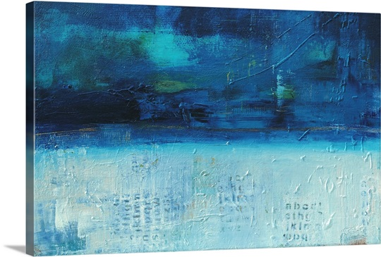 Backlash blues wall art by erin ashley backlash blues canvas