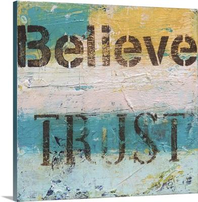 Believe Trust