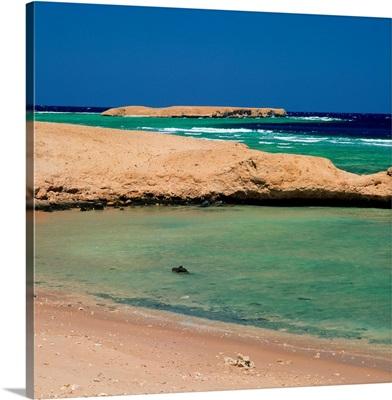 Africa, Egypt, Hurghada, Sharm El Naga beach, coral reef