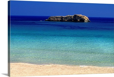 Africa, Libya, Cyrenaica, Susah (Apollonia), beach