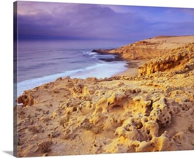 Africa, Morocco, Aglou Plage, beach near Tiznit village