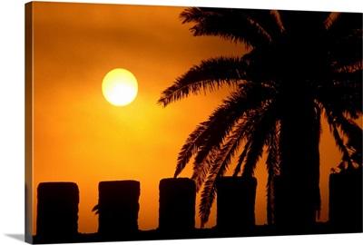 Africa, Morocco, Al-Magreb, Essaouria Essaouira, Merlon of the city walls