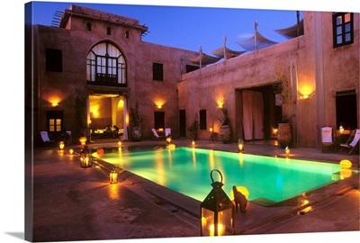 Africa, Morocco, Al-Magreb, Marrakech, Caravan Serai Hotel