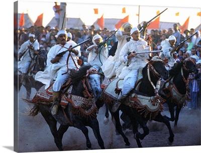 Africa, Morocco, El Jadida, Moussem Moulay Abdallah festival