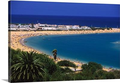 Africa, Morocco, Oualidia, beach near El Jadida town