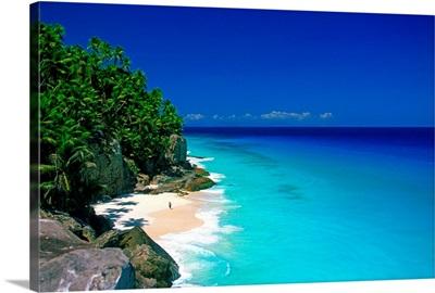 Africa, Seychelles, Fregate island, beach