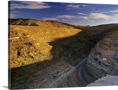 Africa, Tunisia, Mides, canyon