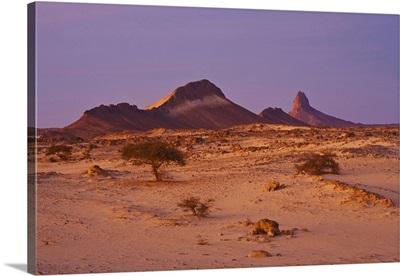 Algeria, Ahaggar Mountains, Hoggar, Sahara Desert, Tassili du Hoggar