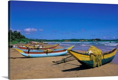 Asia, Ceylon, Sri Lanka, Southern Province, The beach