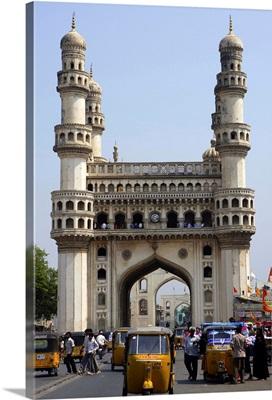 Asia, India, Andhra Pradesh, Hyderabad, The Charminar