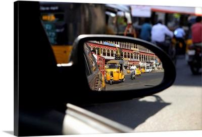 Asia, India, Tamil Nadu, Madras, Chennai, Mahatma Gandhi (MG) Road