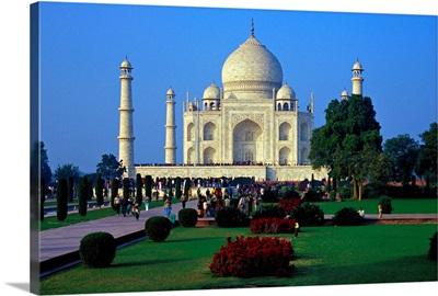 Asia, India, Uttar Pradesh, Agra, Taj Mahal