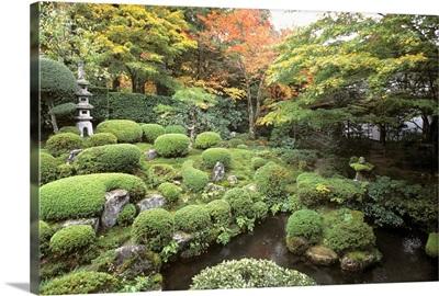 Asia, Japan, Kyoto, Ohara area, Sanzenin Temple, park