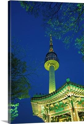 Asia, Korea, South Korea, Seoul, Namsam tower