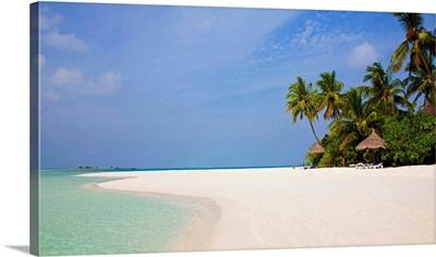 Asia, Maldives, Male Atoll, South Male atoll, beach