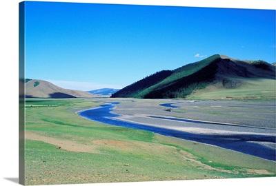 Asia, Mongolia, Central Mongolia, Orkhon Valley, Orkhon Valley