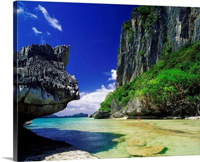 Asia, Philippines, Palawan, El Nido, Bacuit archipelago, Inabuyatan island