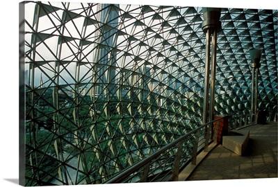 Asia, Singapore, Singapore city, Esplanade - Theatres on the Bay