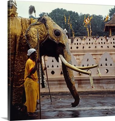 Asia, Sri Lanka, Kandy, Esala Perahera celebration