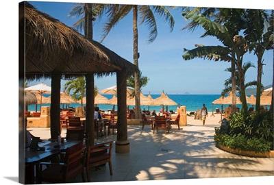 Asia, Vietnam, Dien Khanh, Bar and restaurant at the Nha Trang Sailing Club