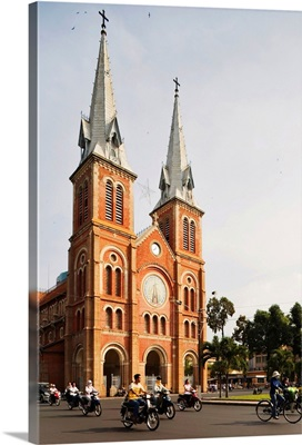Asia, Vietnam, Ho Chi Minh City, Notre Dame Cathedral