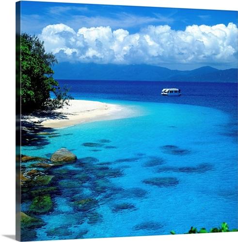 Fitzroy Island Queensland: Australia, Queensland, Great Barrier Reef, Fitzroy Island