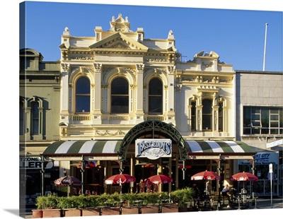 Australia, South Australia, Adelaide, Hindley street, old houses