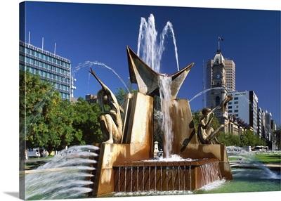 Australia, South Australia, Adelaide, Victoria Square