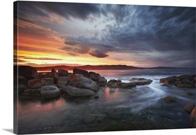 Australia, Tasmania, Binalong Bay, Bay of Fires